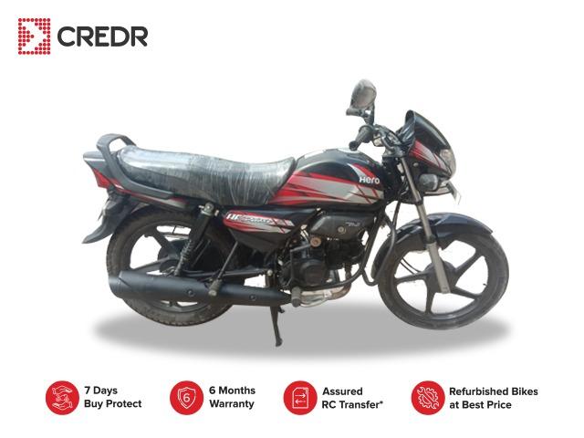 Hero Hf Deluxe Refurbished Bike At Best Price Credr